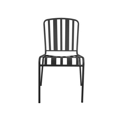 Outdoor Stuhl Lines | Matt-Schwarz
