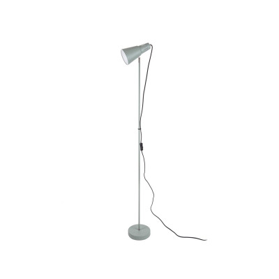 Stehleuchte Mini Cone Iron | Grayed Jade