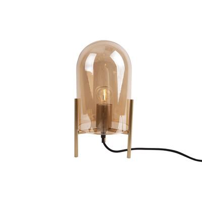 Tischlampe Classic Glas   Bernstein