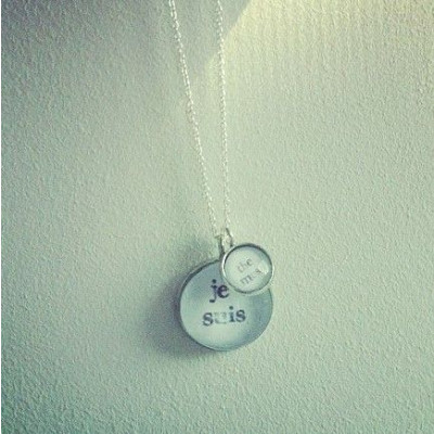 Pendant + Necklace | Je Suis The Muse (Double)