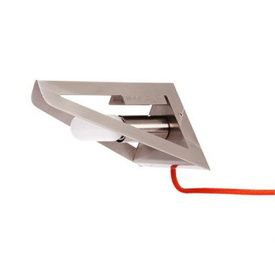 Wandlampen-Buchschirm | Satinierte Ausführung