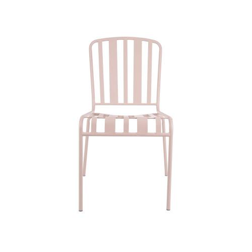 Outdoor Stuhl Lines | Verblasstes Rosa
