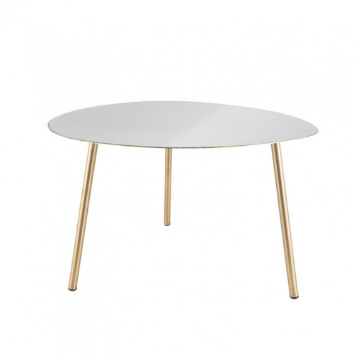Side Table Ovoid | White