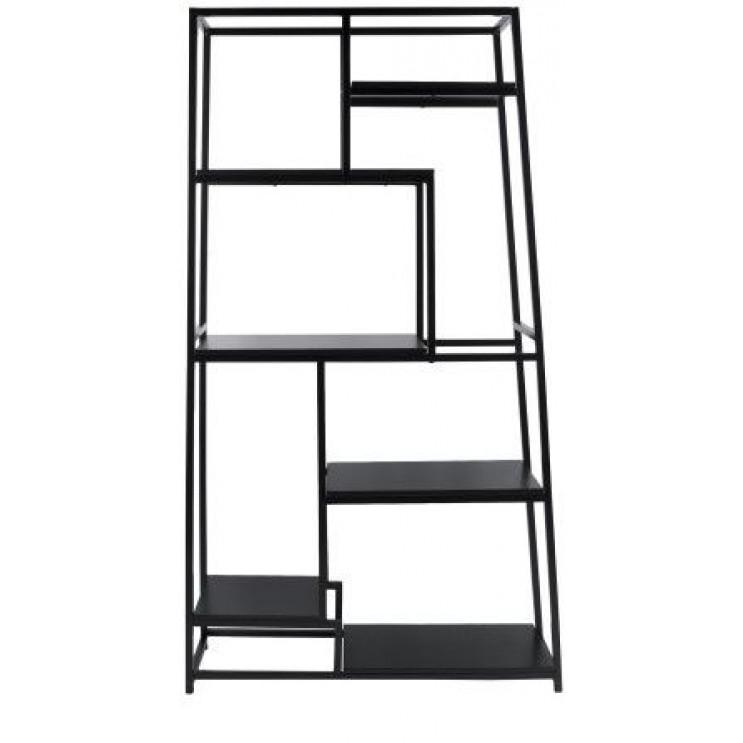 Fushion Book Shelf 178 cm   Black
