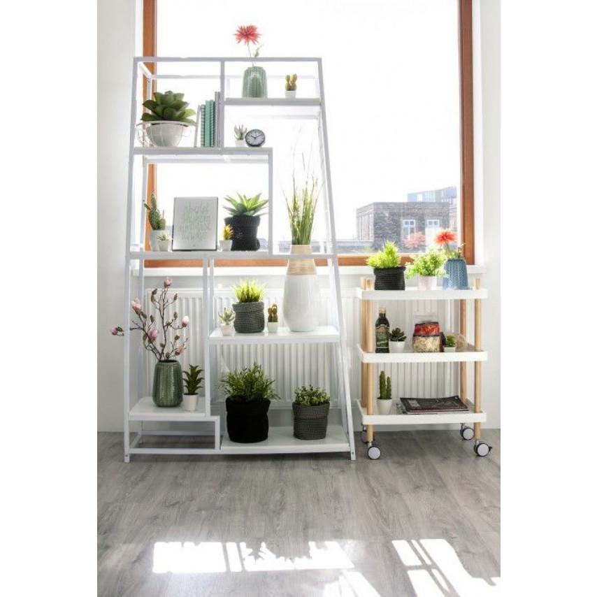 Book Shelf Fushion 178 cm   White