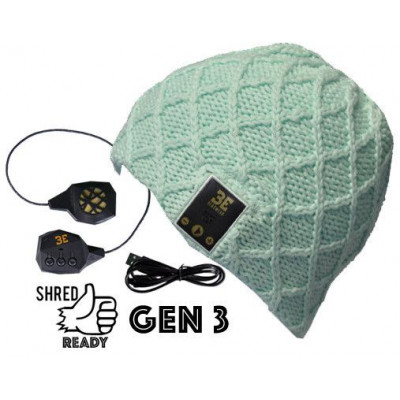 Luvspun Bluetooth Beanie | Sea Foam Green