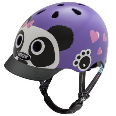 Kids Helmet | Purple Panda