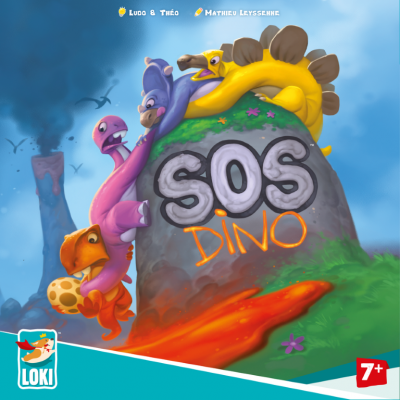 Brettspiel   SOS Dino