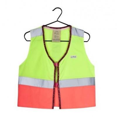 Fluo Vest Girls Lola | Yellow