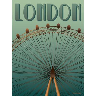 London Poster   London Eye