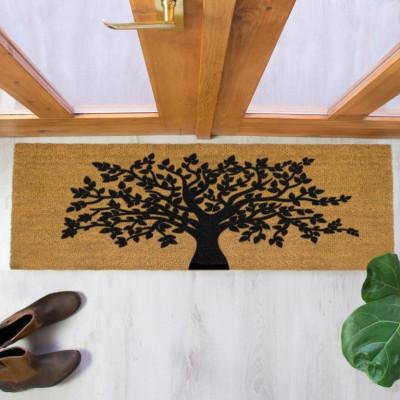 Lange Fußmatte im Innenhof | Lebensbaum
