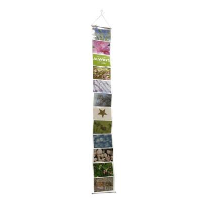 Fotohalter für 12 horizontale Bilder