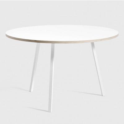 Schlaufenständer rund Ø 120 | Weiß