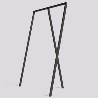 Loop Stand Garderobe | Schwarz