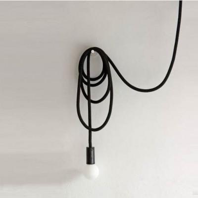 Loop Line Lampe | Schwarz