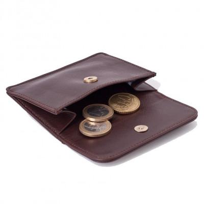 Portemonnaie für Münzen und Kreditkarten | Schokolade