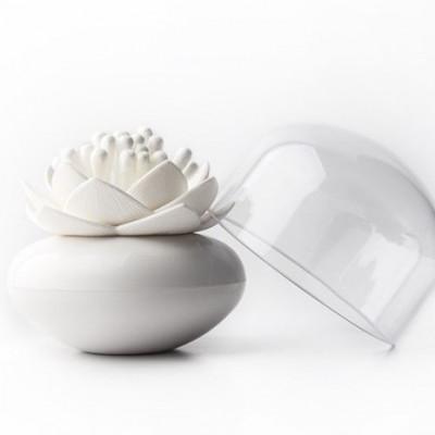 Wattestäbchen Lotus | Weiß
