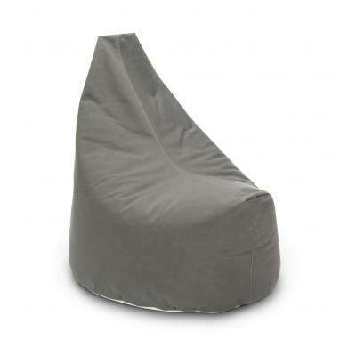 Satelliten-Sitzsack-Lounge im Freien | Grau