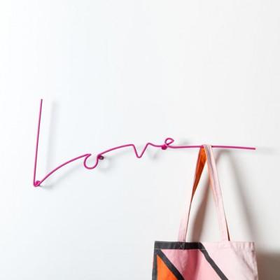 Love Coat Rack | Pink