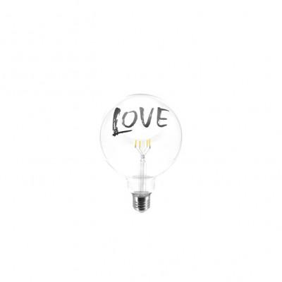 Glühbirne Tattoo Lamp Love