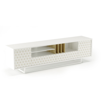 TV-Ständer Lowbo L | White Frez