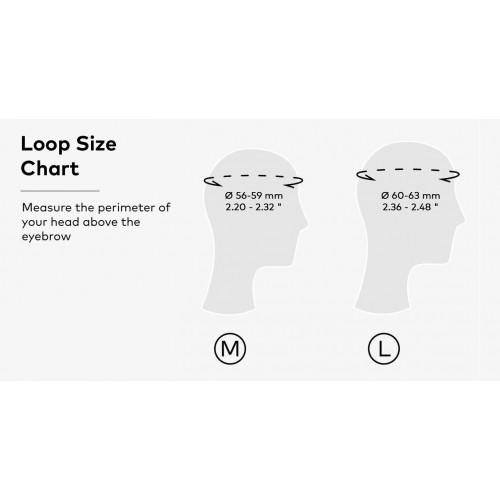 Foldable Helmet Loop | Graphite/Black