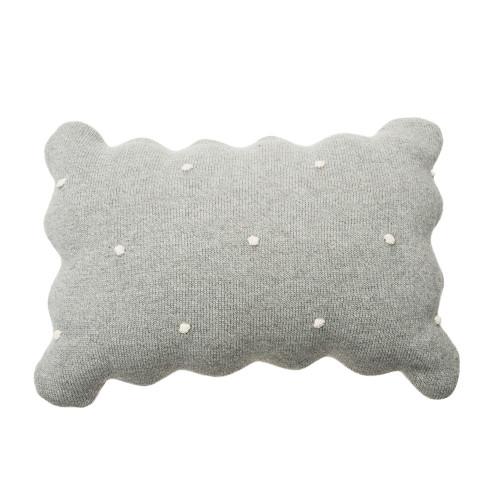 Kissen | Biscuit | Grau