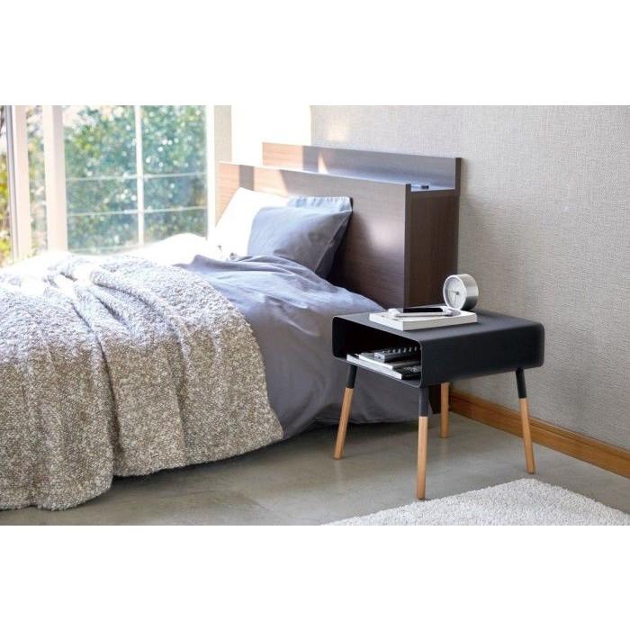 Low Side Table Plain | Black
