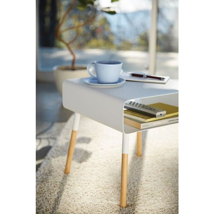 Low Side Table Plain | White