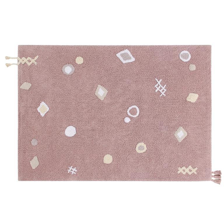 Waschbarer Teppich  | Noah | Pink