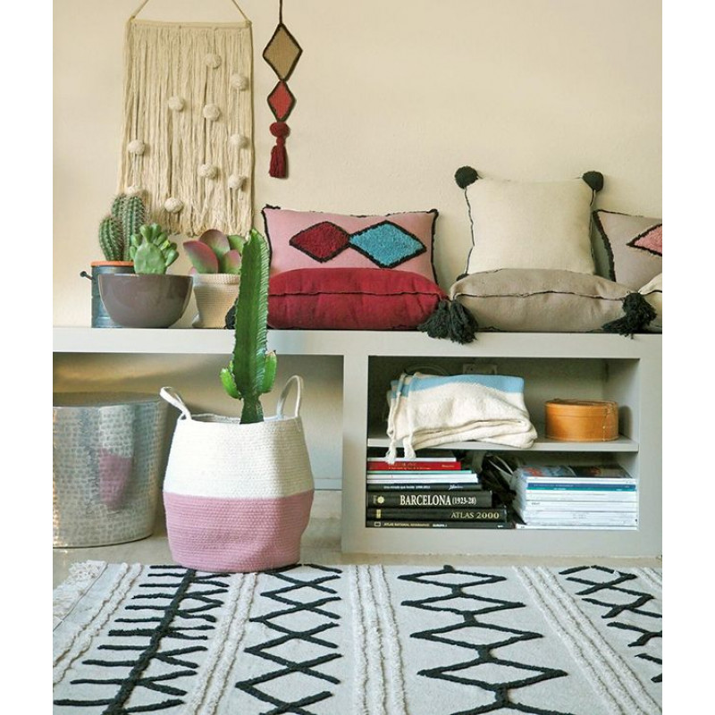 Waschbarer Teppich  | Bereber Canvas | 200 x 140 cm
