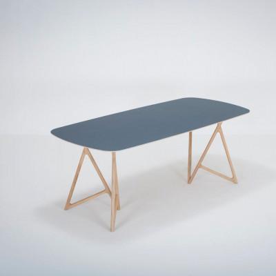 Tisch Koza Linoleum | Blau