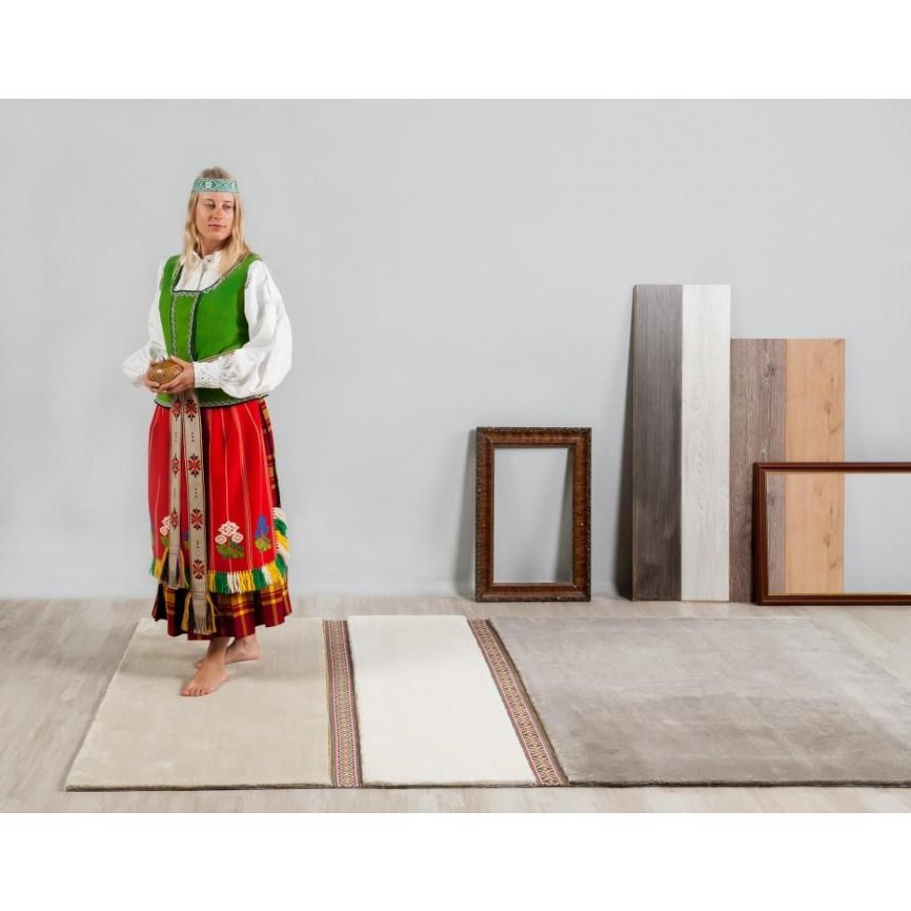 Teppich Lietuva   Braun