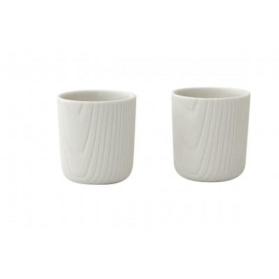 Kaffeetasse Mini MU 2er-Set | Weiß