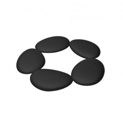Untersetzer Pebble | Schwarz