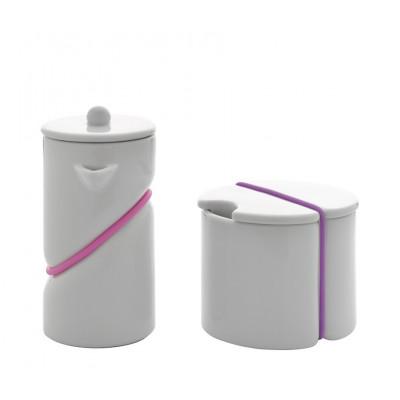 Milchkännchen und Zuckerdose  Rubber Band