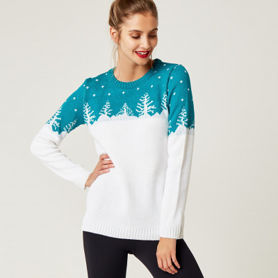 Christmas Sweater   White & Green
