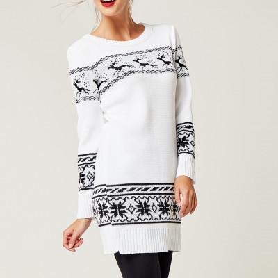 Christmas Sweater   White