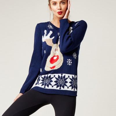 Christmas Sweater   Navy