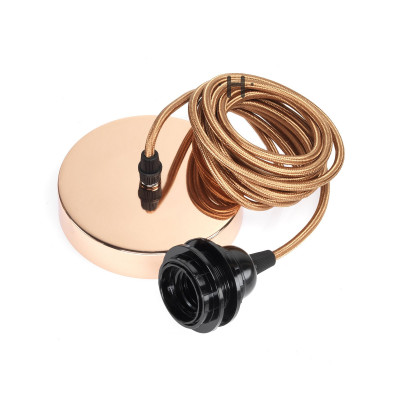 Hang Power Cord for Pendant Light   Copper