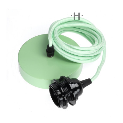 Hang Power Cord for Pendant Light   Mint