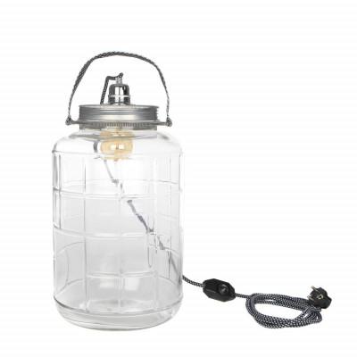 Jar Table Light | Transparent