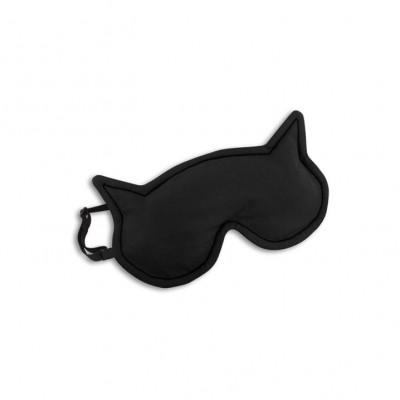Schlafmaske Die Katze Luna   Schwarz