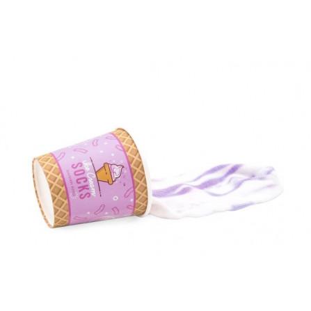 Eiscreme-Socken | Blaubeer-Welligkeit