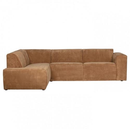 Corner Sofa Left Luna | Brown
