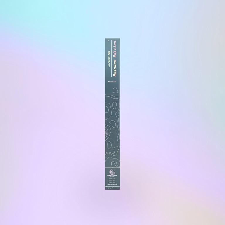 Rubbelkarte - Regenbogen Edition