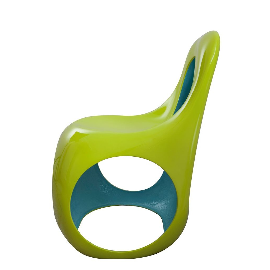 Kan Chair Olive/Blue