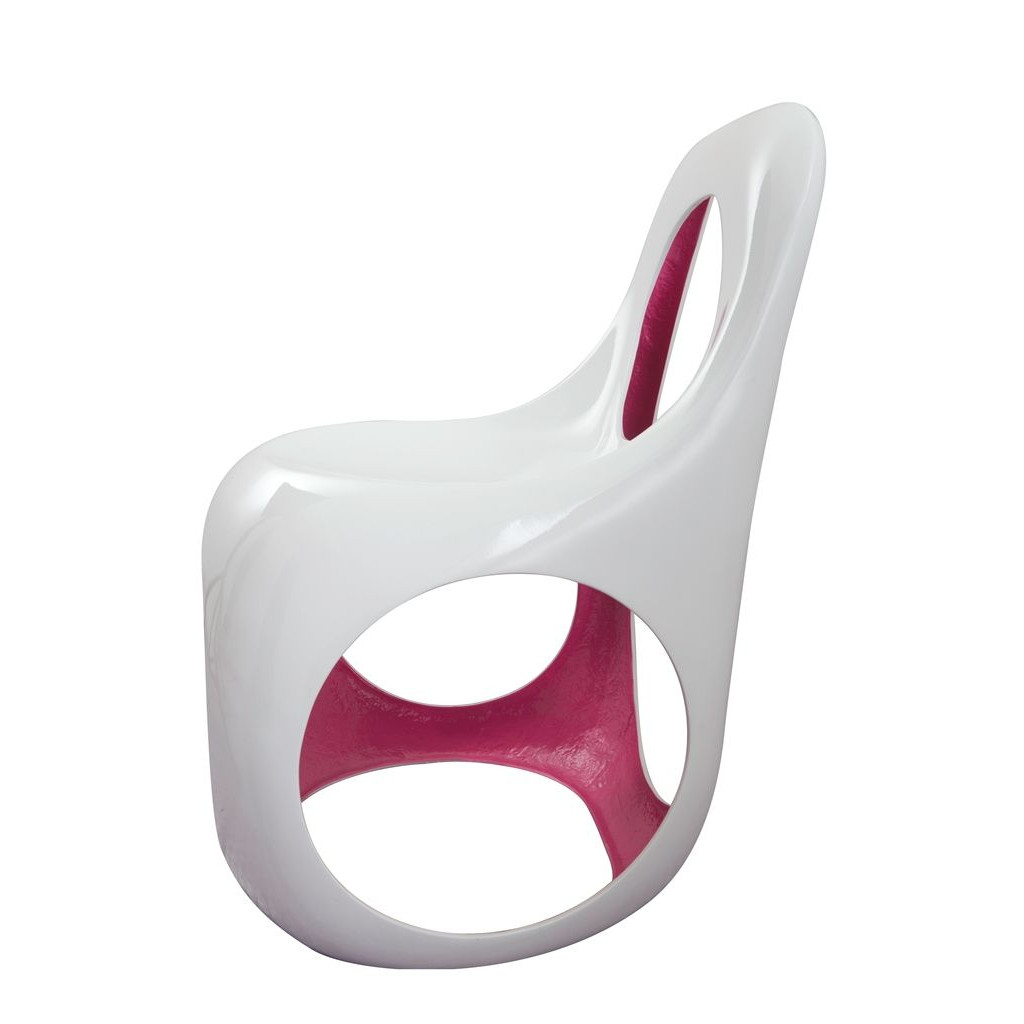 Kan Chair White/Pink