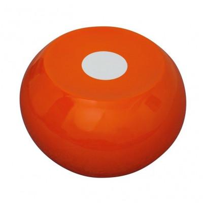 Ufo-Hocker Orange/Weiß