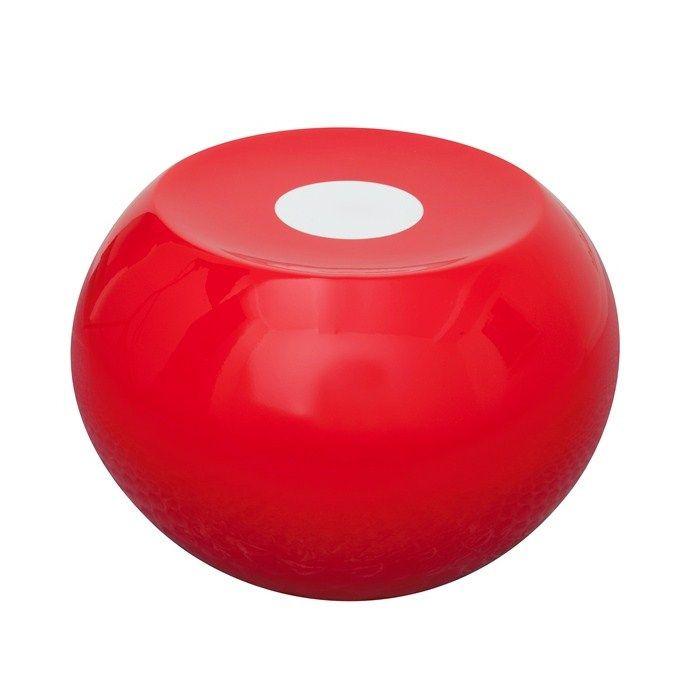 Ufo Stool Red/White